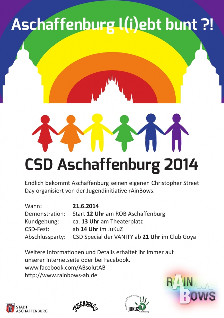 CSD Aschaffenburg 2014